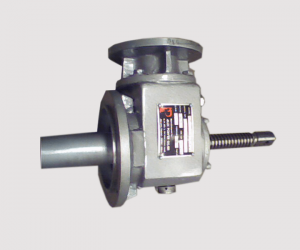Helical worm actuator with Clevis End